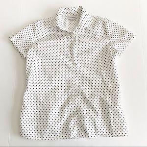 Maus & Hoffman Shirt Polka Dot Vintage Look S